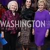 Melanne Verveer, Global Trailblazer Award Honoree Her Majesty Queen Rania Al Abdullah of Jordan, Tina Brown. Photo by Tony Powell. Vital Voices 2017 Global Leadership Awards. Kennedy Center. March 8, 2017