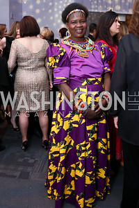 Leadership in Public Life Award Honoree Malawi Chief Theresa Kachindamoto. Photo by Tony Powell. Vital Voices 2017 Global Leadership Awards. Kennedy Center. March 8, 2017