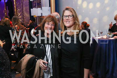 Susie Trees, Abby Spring. Photo by Tony Powell. Vital Voices 2017 Global Leadership Awards. Kennedy Center. March 8, 2017