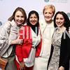 Megan Beyer, Attia Nasar, Ann Stock, Melissa Dilber. Photo by Tony Powell. Vital Voices 2017 Global Leadership Awards. Kennedy Center. March 8, 2017