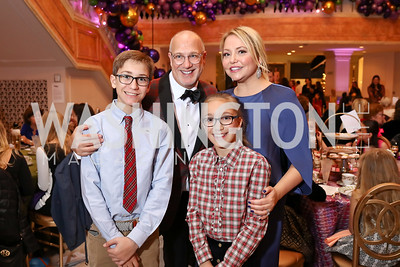 Rinaldi Family. Photo by Tony Powell. 2017 WB Nutcracker Tea. NMWA. December 10, 2017