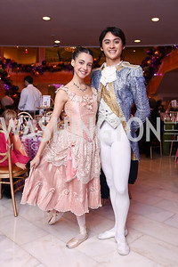 Alexa Torres, Lope Lim. Photo by Tony Powell. 2017 WB Nutcracker Tea. NMWA. December 10, 2017