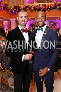 Wayne Fortune, Brandon Clay. Photo by Tony Powell. 2017 WB Nutcracker Tea. NMWA. December 10, 2017