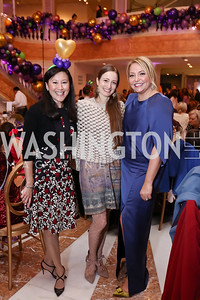 Ginger Dietrich, Julie Kent, Andrea Rinaldi. Photo by Tony Powell. 2017 WB Nutcracker Tea. NMWA. December 10, 2017