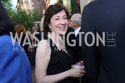 Sen. Susan Collins. Photo by Tony Powell. 2017 WHCD Bradley Welcome Dinner. April 28, 2017