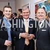Max Friedman, Amb. Kurt Jaeger, Adam Shapiro. Photo by Tony Powell. 2017 WHCD Bytes & Bylines. DTR Modern Galleries. April 27, 2017