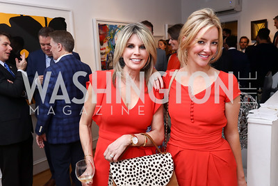 Heather Donnelly, Jayne Visser. Photo by Tony Powell. 2017 WHCD Bytes & Bylines. DTR Modern Galleries. April 27, 2017