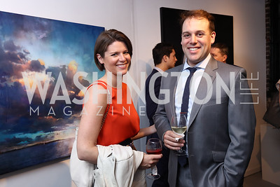 Kasie Hunt, Matt Rivera. Photo by Tony Powell. 2017 WHCD Bytes & Bylines. DTR Modern Galleries. April 27, 2017
