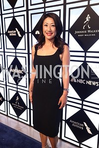 NBC News 4 Anchor Eun Yang. Photo by Tony Powell. 2017 WHCD MSNBC After Party. OAS. April 29, 2017