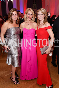 Ali Zelenko, Dana Bash, Nicolle Wallace. Photo by Tony Powell. 2017 WHCD MSNBC After Party. OAS. April 29, 2017