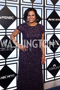 NBC News' Kristin Welker. Photo by Tony Powell. 2017 WHCD MSNBC After Party. OAS. April 29, 2017