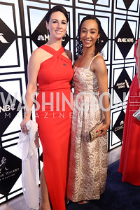 USA TODAY Senior Political Reporter Heidi Przybyla, Daily Mail Reporter Francesca Chambers. Photo by Tony Powell. 2017 WHCD MSNBC After Party. OAS. April 29, 2017