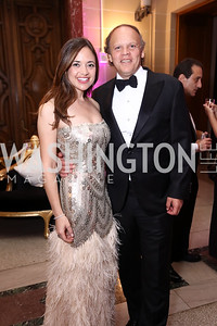 Sally and Mark Ein. Photo by Tony Powell. 2017 WHCD MSNBC After Party. OAS. April 29, 2017