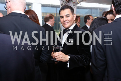 Xavier Equihua. Photo by Tony Powell. 2017 WHCD Pre-parties. Hilton Hotel. April 29, 2017