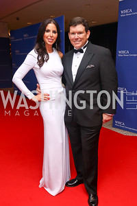 Amy and Bret Baier. Photo by Tony Powell. 2017 WHCD Pre-parties. Hilton Hotel. April 29, 2017