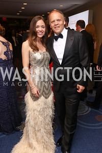 Sally and Mark Ein. Photo by Tony Powell. 2017 WHCD Pre-parties. Hilton Hotel. April 29, 2017