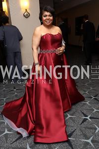 CNN Analyst April Ryan. Photo by Tony Powell. 2017 WHCD Pre-parties. Hilton Hotel. April 29, 2017