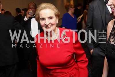 Madeleine Albright. Photo by Tony Powell. 2017 WHCD Pre-parties. Hilton Hotel. April 29, 2017