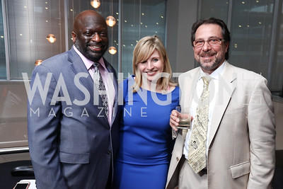Jeff Ballou, Emily Goodin, RealClear Politics DC Bureau Chief Carl Cannon. 2017 WHCD Toast to the 1st Amendment. April 28, 2017