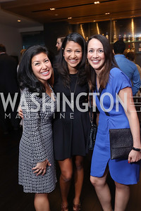 Stephanie Penn, Katie Wardman, Katie Niederee. 2017 WHCD Toast to the 1st Amendment. April 28, 2017
