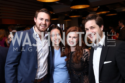 Bryan Petrich, Alex Gangitano, Lauren Britsch, Jeremy Dillon. 2017 WHCD Toast to the 1st Amendment. April 28, 2017