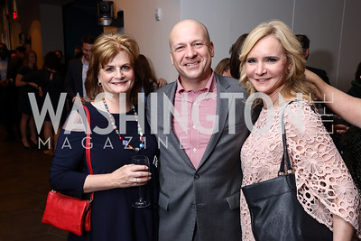 Sharon Cannon, Tom Bevan, AB Stoddard. 2017 WHCD Toast to the 1st Amendment. April 28, 2017