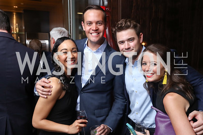 Francesca Chambers, Jesse Rodriguez, Tommy Hanson, Lisa Leonard. 2017 WHCD Toast to the 1st Amendment. April 28, 2017