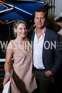 Ali Larter, Hayes MacArthur. Photo by Tony Powell. 2017 WHCD United Talent Agency Event. Fiola Mare. April 28, 2017