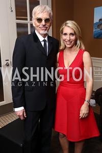 Billy Bob Thornton, Dana Bash. Photo by Tony Powell. 2017 WHCD United Talent Agency Event. Fiola Mare. April 28, 2017