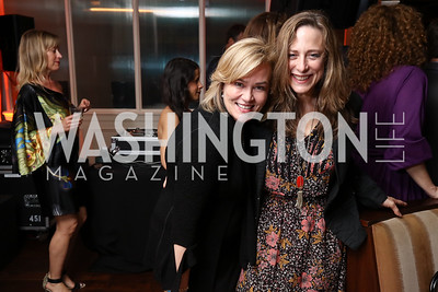 Cathy Koch, Melodie Thomas. Photo by Tony Powell. 2017 WHCD United Talent Agency Event. Fiola Mare. April 28, 2017