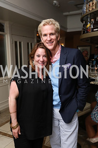 Kimball Stroud, Matthew Modine. Photo by Tony Powell. 2017 WHCD United Talent Agency Event. Fiola Mare. April 28, 2017
