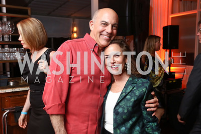 Jonathan Silver and Melissa Moss. Photo by Tony Powell. 2017 WHCD United Talent Agency Event. Fiola Mare. April 28, 2017