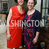 Washington Post Senior National Affairs Correspondent Juliet Eilperin, Former White House Domestic Policy Council Director Cecilia Munoz. Photo by Tony Powell. WHCD Women in Journalism. Dittus Residence. April 27, 2017