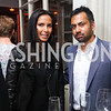 Padma Lakshmi, Kal Penn. Photo by Tony Powell. 2017 WHCD United Talent Agency Event. Fiola Mare. April 28, 2017