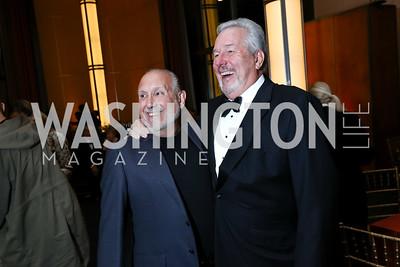 "Neil Shicoff, James Morris. Photo by Tony Powell. 2017 WNO ""Aida"" Opening Night Dinner. Kennedy Center. September 10, 2017"