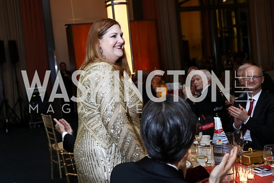 """Aida"" Tamara Wilson. Photo by Tony Powell. 2017 WNO ""Aida"" Opening Night Dinner. Kennedy Center. September 10, 2017"