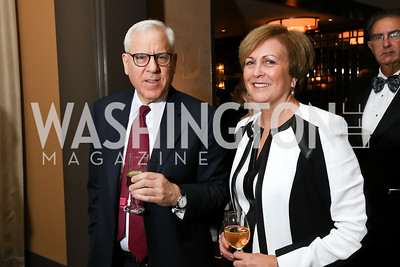 "David Rubenstein, Deborah Rutter. Photo by Tony Powell. 2017 WNO ""Aida"" Opening Night Dinner. Kennedy Center. September 10, 2017"