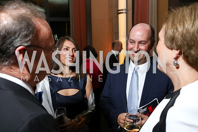 "Marta Lederer and Gary Ginstling. Photo by Tony Powell. 2017 WNO ""Aida"" Opening Night Dinner. Kennedy Center. September 10, 2017"