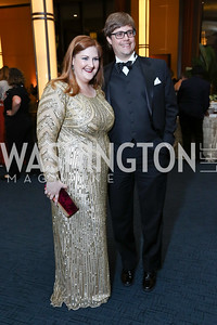 """Aida"" Tamara Wilson, David Logan. Photo by Tony Powell. 2017 WNO ""Aida"" Opening Night Dinner. Kennedy Center. September 10, 2017"