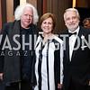 Leon Wieseltier, KC President Deborah Rutter, WNO Maestro Philippe Auguin. Photo by Tony Powell. 2017 WNO Season Opener. Kennedy Center. May 6, 2017