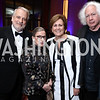 WNO Maestro Philippe Auguin, Justice Ruth Bader Ginsburg, KC President Deborah Rutter, Leon Wieseltier. Photo by Tony Powell. 2017 WNO Season Opener. Kennedy Center. May 6, 2017