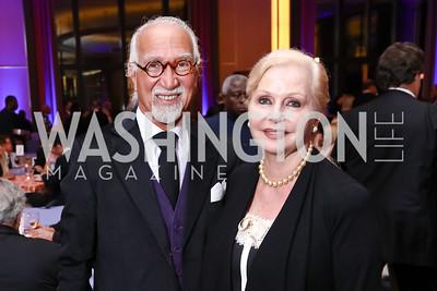 AR and Judy Esfandiary. Photo by Tony Powell. 2017 WNO Season Opener. Kennedy Center. May 6, 2017