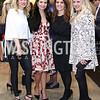 Anna Beth Tidwell, Susan Burke, Caroline Willis, Courtney Decker. Photo by Tony Powell. 2017 WWS Preview Night. Katzen Center. January 12, 2017