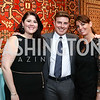 Marguerite Steege, John Page, Kerri Larkin. Photo by Tony Powell. 2017 WWS Preview Night. Katzen Center. January 12, 2017