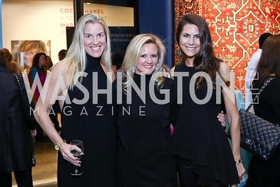Kim Hayman, Sassy Jacobs, Katelin Haney. Photo by Tony Powell. 2017 WWS Preview Night. Katzen Center. January 12, 2017