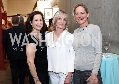Merrell Cherouny, Amy Zantzinger, Katie Gewirz. Photo by Tony Powell. 2017 WWS Preview Night. Katzen Center. January 12, 2017