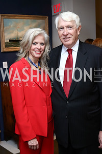 Susan and Michael Harreld. Photo by Tony Powell. 2017 WWS Preview Night. Katzen Center. January 12, 2017