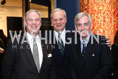 Trevor Potter, David Deckelbaum, Robert Higdon. Photo by Tony Powell. 2017 WWS Preview Night. Katzen Center. January 12, 2017