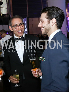 "Arthur Espinoza, Corey Landolt. Photo by Tony Powell. 2017 Washington Ballet ""We Choose the Moon"" Gala. Air & Space Museum. May 12, 2017"