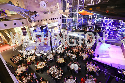 "Photo by Tony Powell. 2017 Washington Ballet ""We Choose the Moon"" Gala. Air & Space Museum. May 12, 2017"